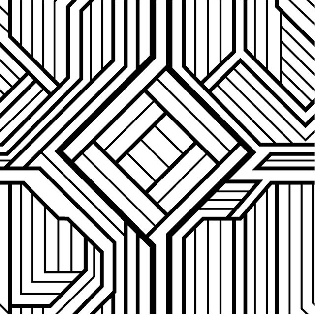 pattern coloring pages for kids easy geometric abstract coloring page for kids geometric coloring pattern for kids pages