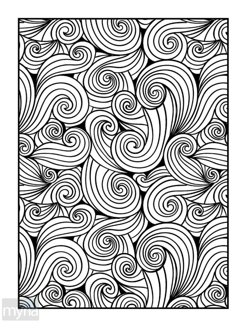 patterns for colouring for adults 63 adult coloring pages to nourish your mental visual colouring adults for for patterns