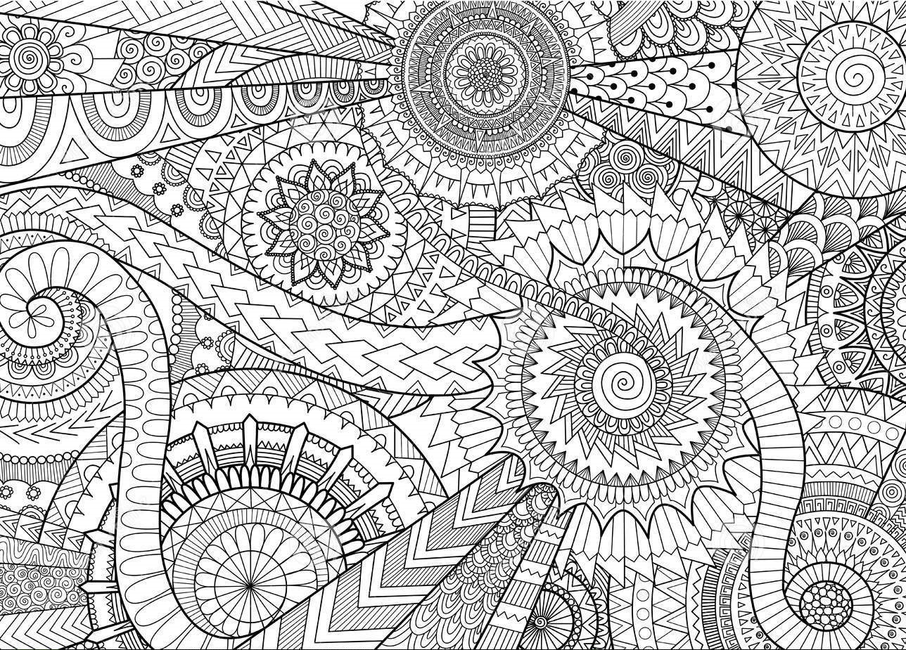 patterns for colouring for adults beautiful doodle floral pattern adult coloring pages printable adults for patterns colouring for