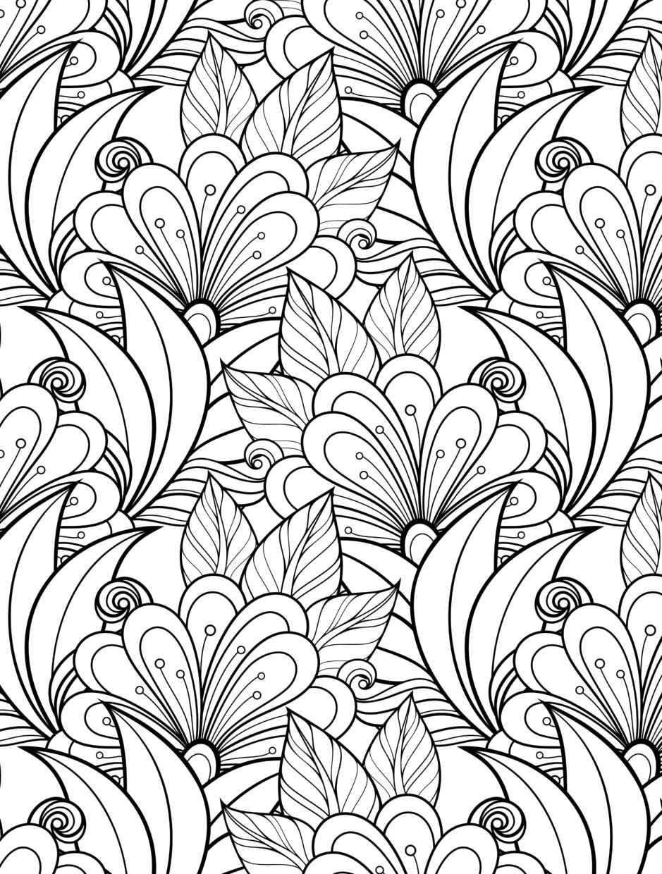 patterns for colouring for adults cool designs to color coloring pages coloring home for patterns for colouring adults