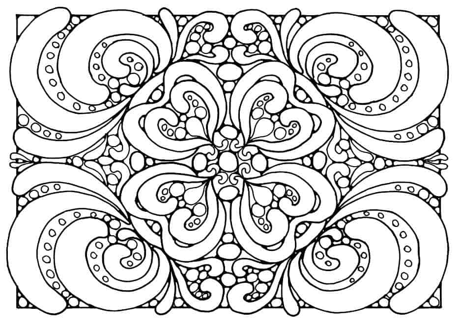 patterns for colouring for adults printable hard pattern coloring pages coloring home for patterns for adults colouring