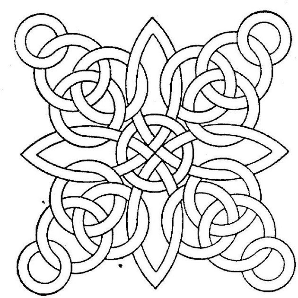 patterns to color in free printable geometric coloring pages for adults patterns in color to