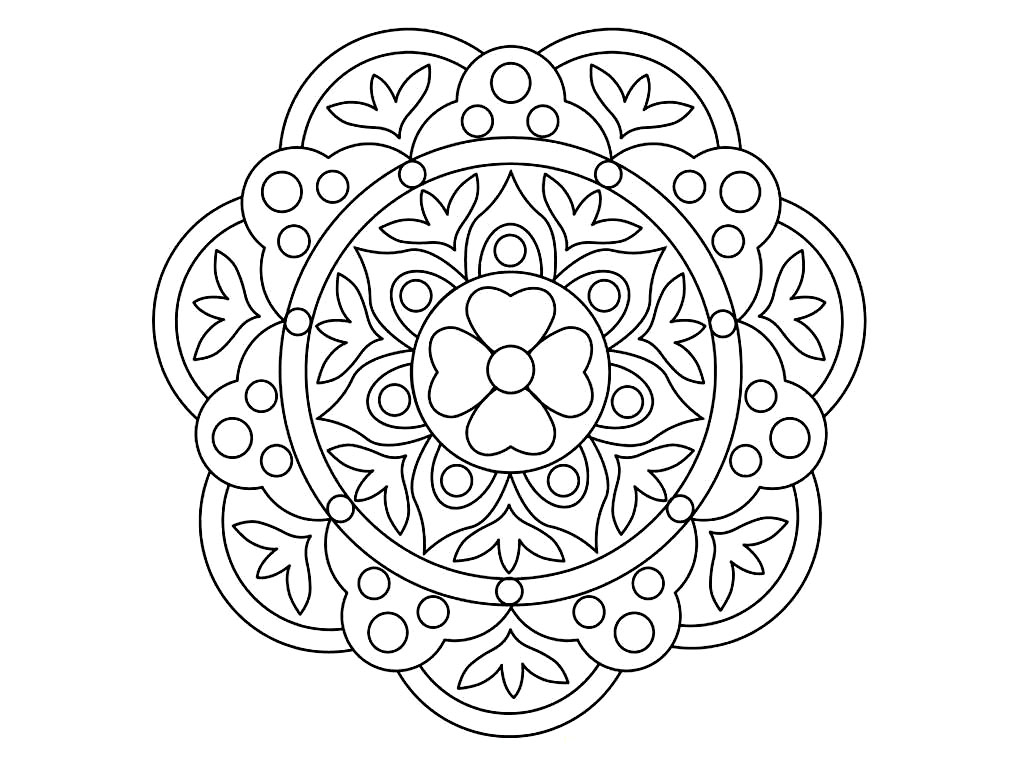 patterns to color in free printable rangoli coloring pages for kids color in patterns to