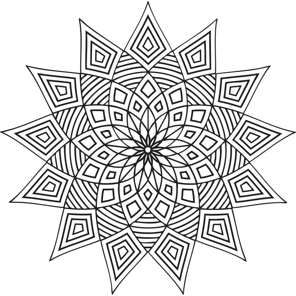 patterns to color in traditional islamic mosaic coloring page free printable color in patterns to