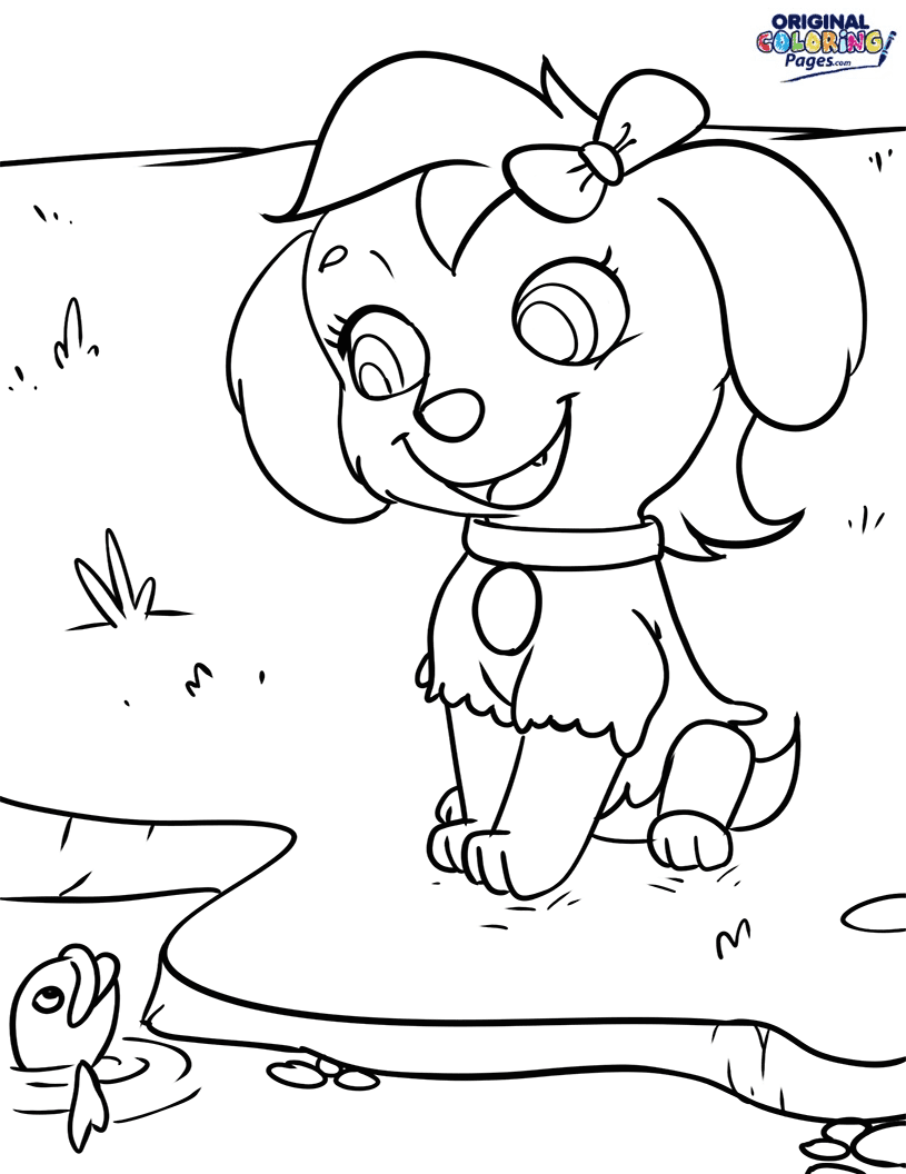 paw patrol boat coloring page chase paw patrol colouring clip art library paw coloring boat patrol page