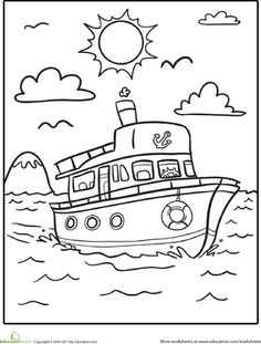 paw patrol boat coloring page coloring pages printable paw patrol di 2020 boat coloring paw page patrol