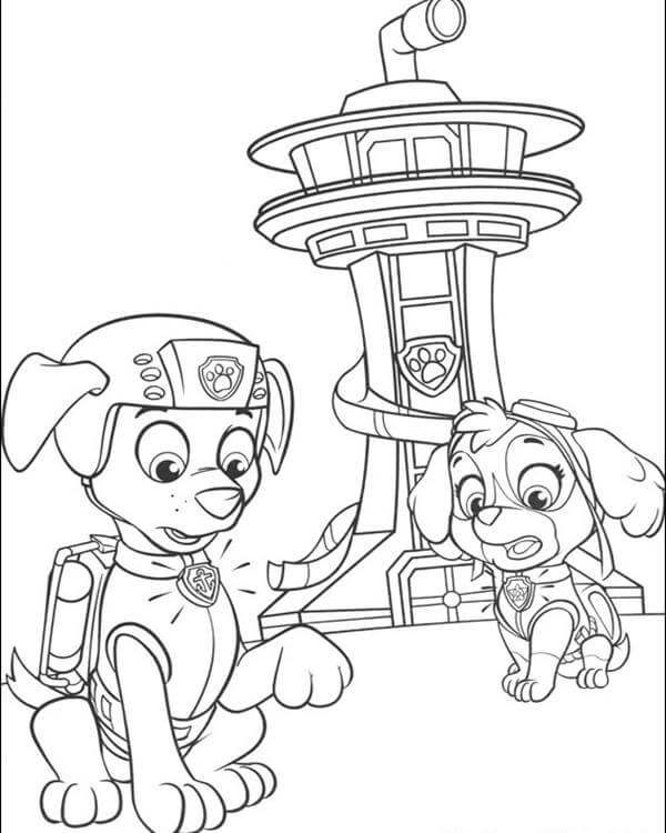 paw patrol boat coloring page motor boat coloring pages coloring home boat patrol coloring page paw