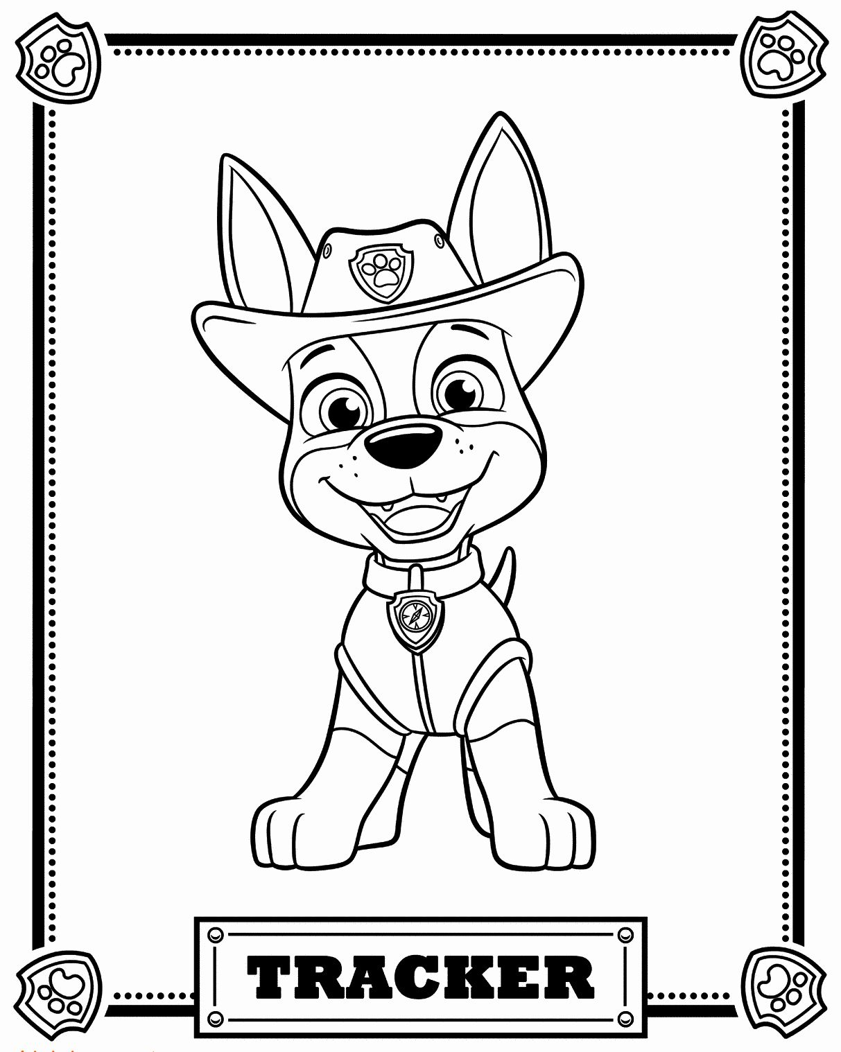 paw patrol characters how to draw marshal paw patrol patrol characters paw