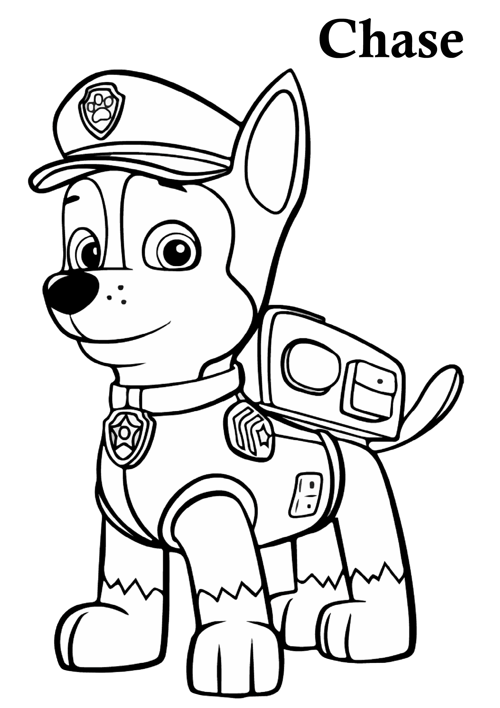 paw patrol coloring characters free paw patrol coloring pages happiness is homemade patrol characters paw coloring