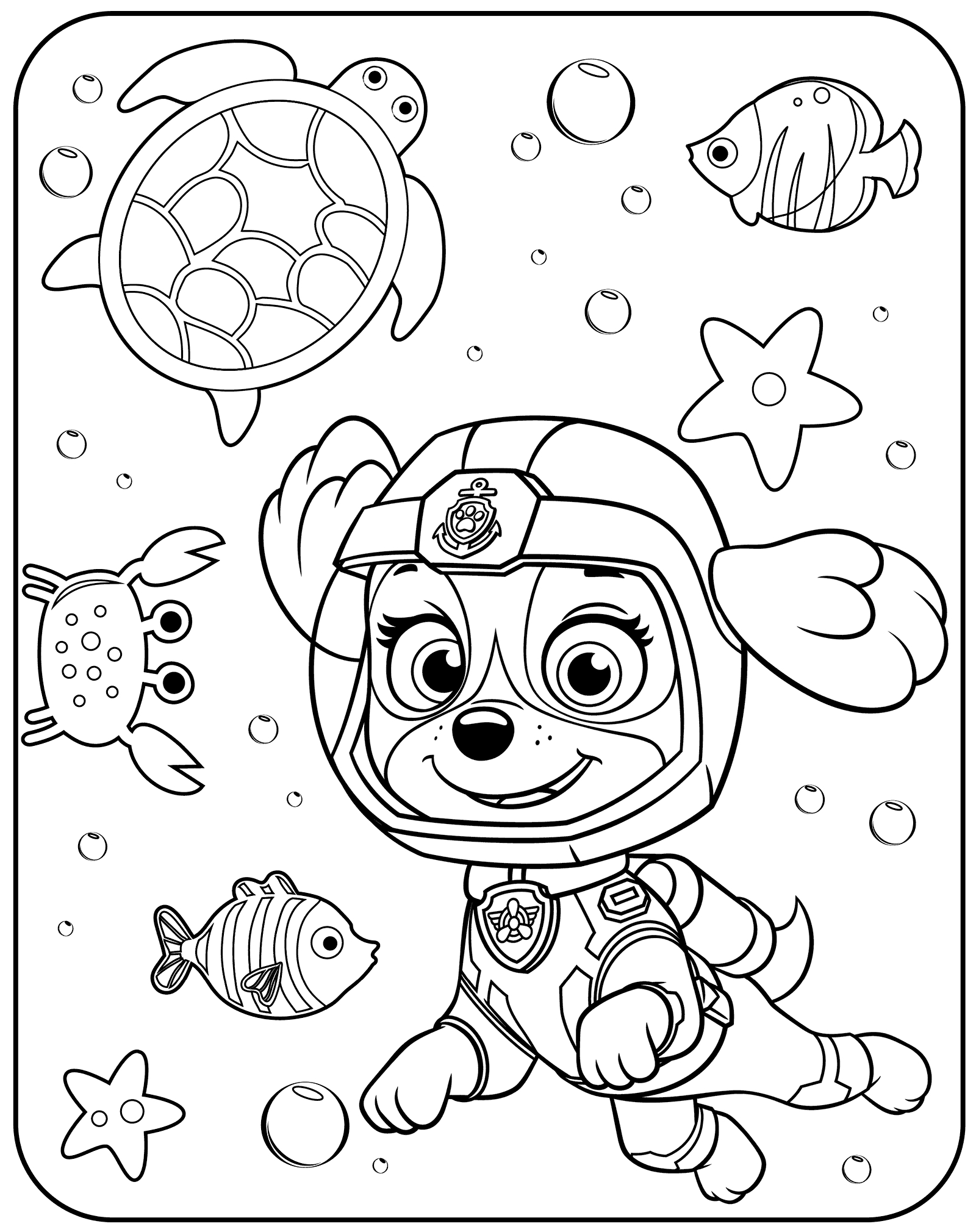paw patrol coloring characters paw patrol characters coloring pages at getcoloringscom coloring paw characters patrol