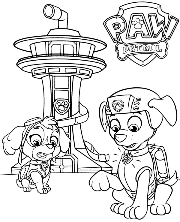 paw patrol coloring pages coloring book pdf download paw pages coloring patrol