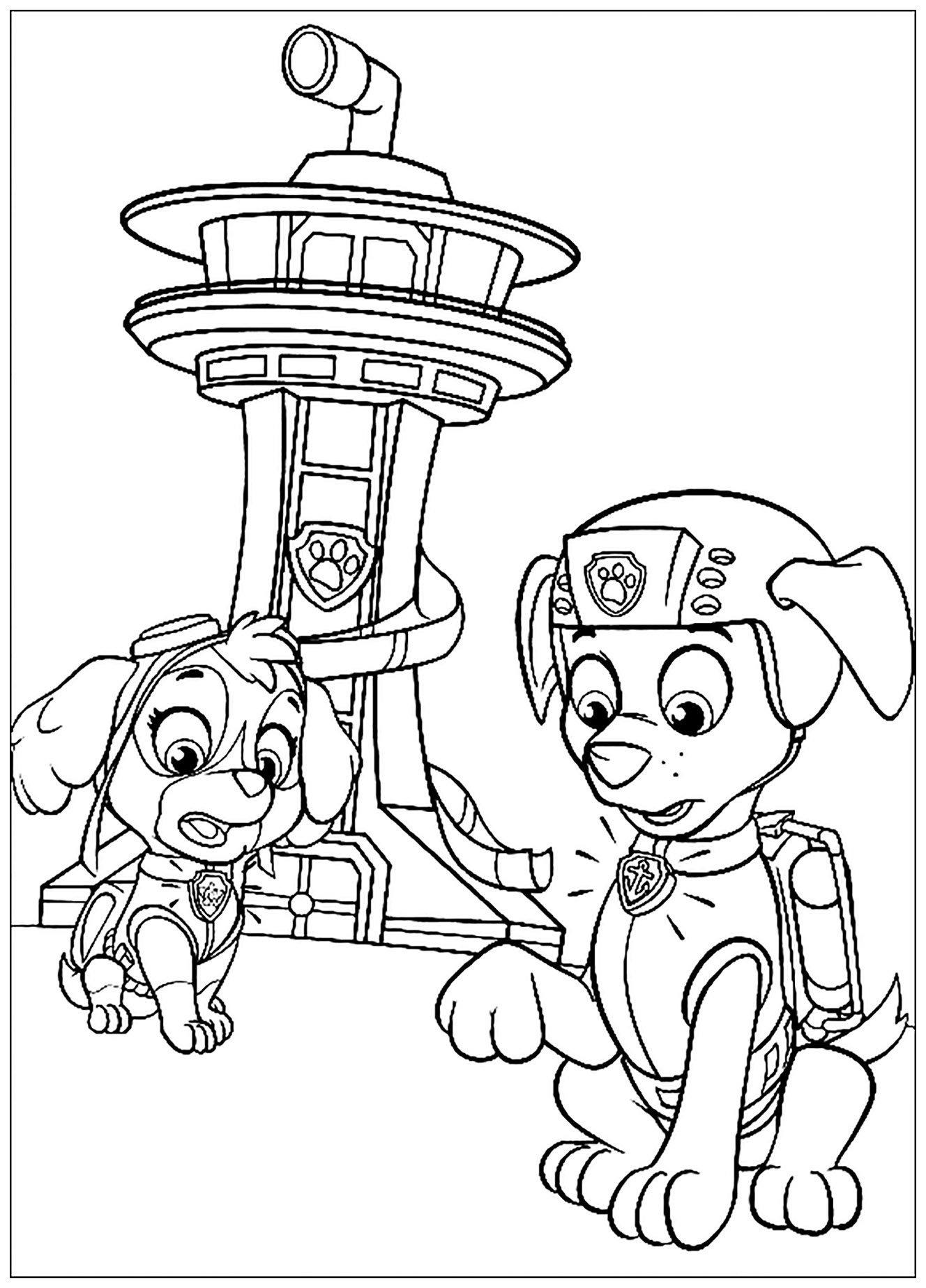 paw patrol coloring pages get this paw patrol preschool coloring pages to print patrol coloring paw pages