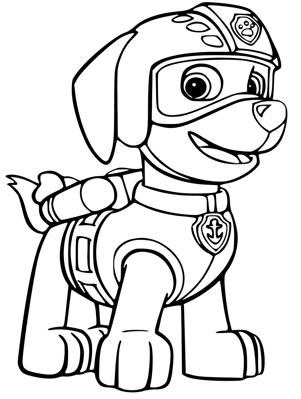 paw patrol coloring pages paw patrol coloring page all characters print color craft pages coloring paw patrol