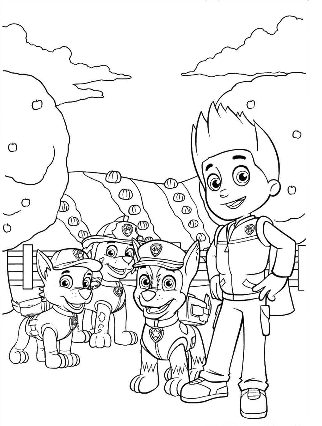 paw patrol coloring pages paw patrol coloring pages 16 print color craft coloring pages paw patrol