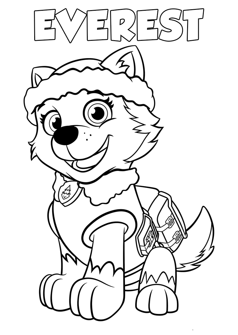 paw patrol coloring pages paw patrol coloring pages free printable coloring page paw coloring patrol pages