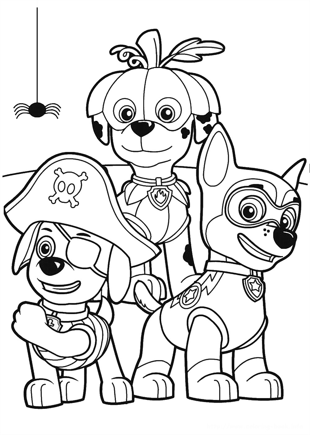 paw patrol for coloring free paw patrol coloring pages happiness is homemade patrol for coloring paw