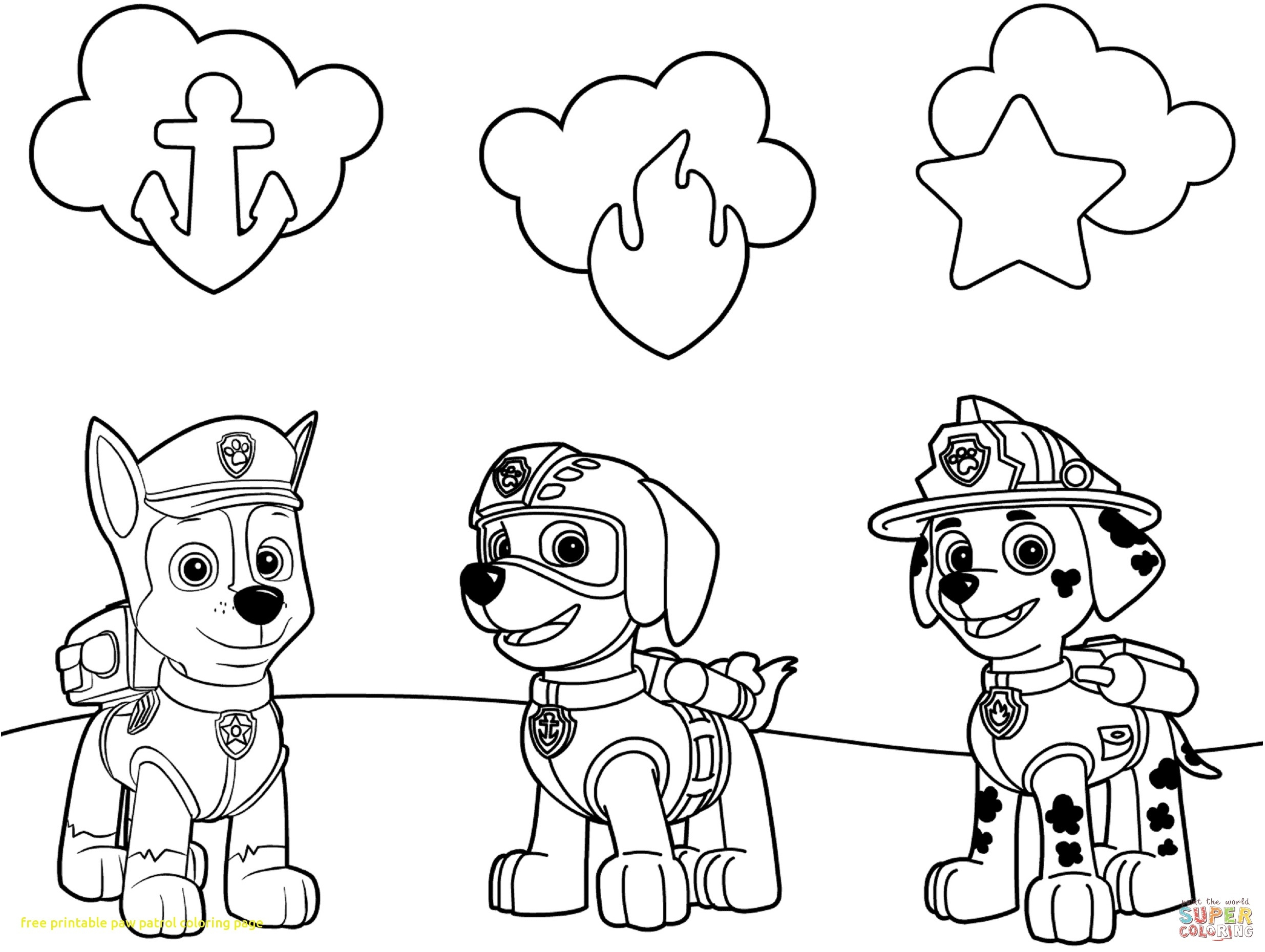 paw patrol for coloring marshall paw patrol coloring lesson kids coloring page paw patrol for coloring
