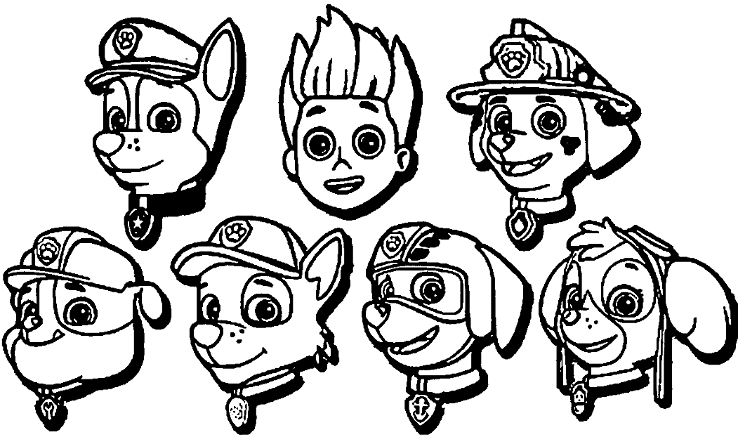 paw patrol for coloring paw patrol coloring pages coloring page for patrol paw coloring