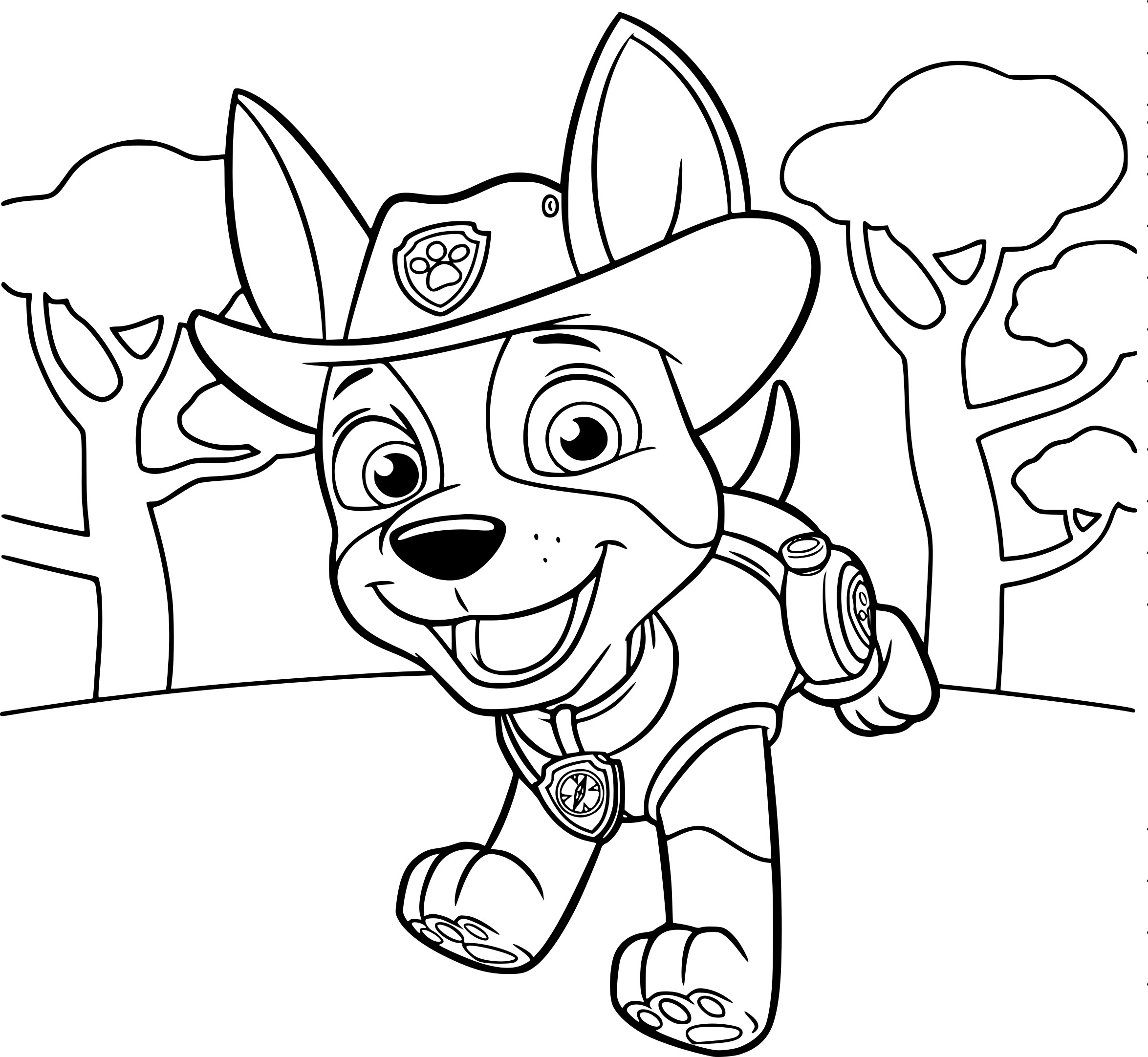 paw patrol free coloring pages printable paw patrol coloring page coloring home coloring free patrol paw pages printable