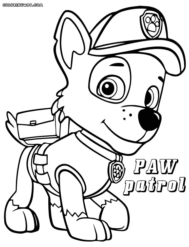 paw patrol free coloring pages printable paw patrol coloring pages coloring pages to download and pages patrol paw free coloring printable