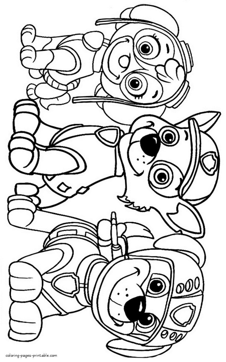 paw patrol free coloring pages printable paw patrol coloring pages printable 25 print color craft printable coloring patrol paw free pages