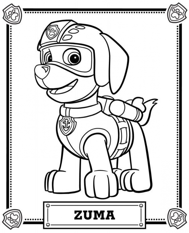 paw patrol free coloring pages printable pawpatrolcoloringpage22 coloring pages for kids free patrol printable paw pages coloring