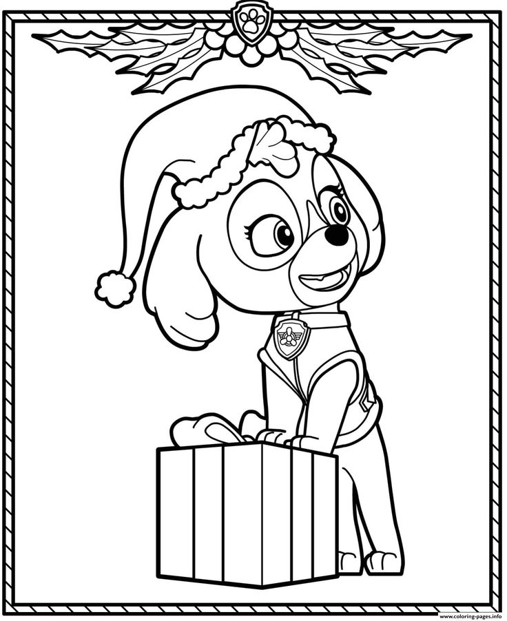 paw patrol sweetie coloring pages sky paw patrol coloring page youngandtaecom in 2020 paw coloring patrol sweetie pages