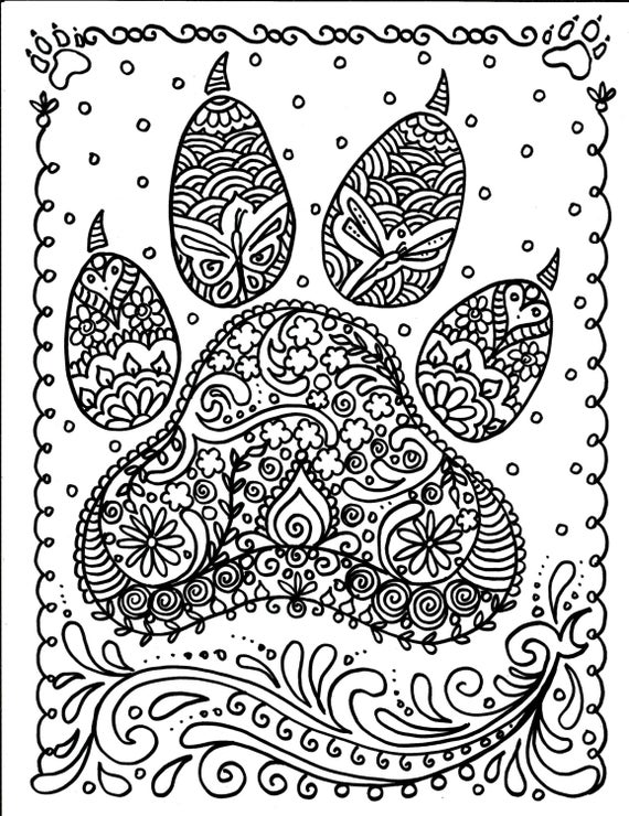 paw prints coloring pages bear paw coloring page kerra coloring pages paw prints