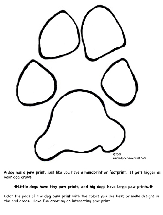 paw prints coloring pages bear paw print coloring pages in 2020 bear paw print paw coloring prints pages