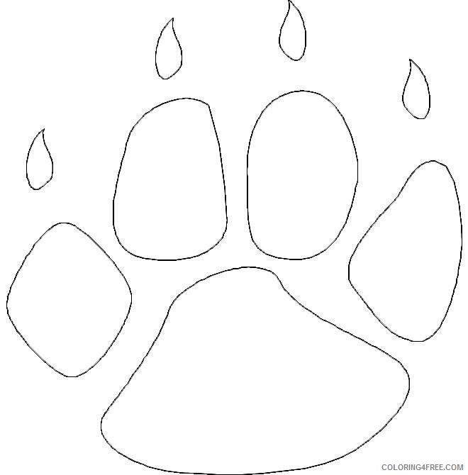 paw prints coloring pages cat paw prints coloring pages coloring pages coloring prints paw pages