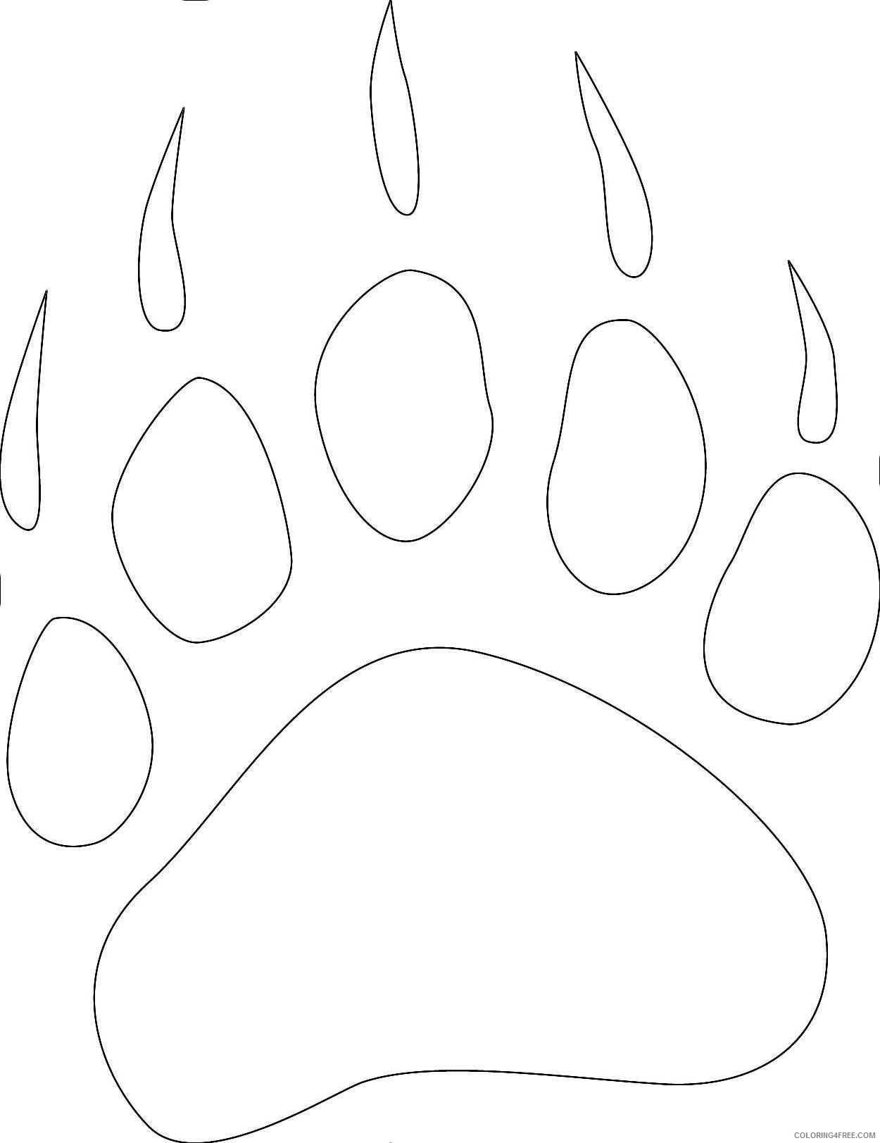 paw prints coloring pages paw print coloring page pages astounding free patrol pages paw prints coloring