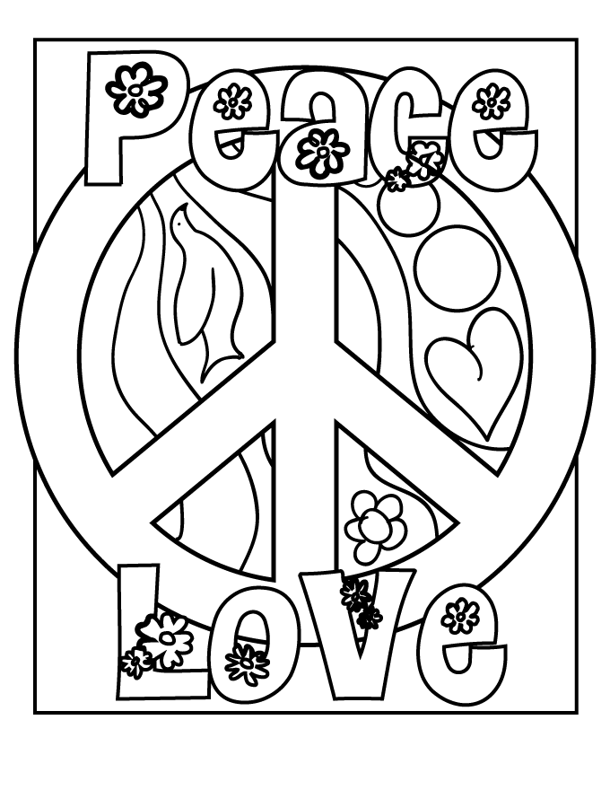 peace coloring pages peace coloring pages to download and print for free pages peace coloring
