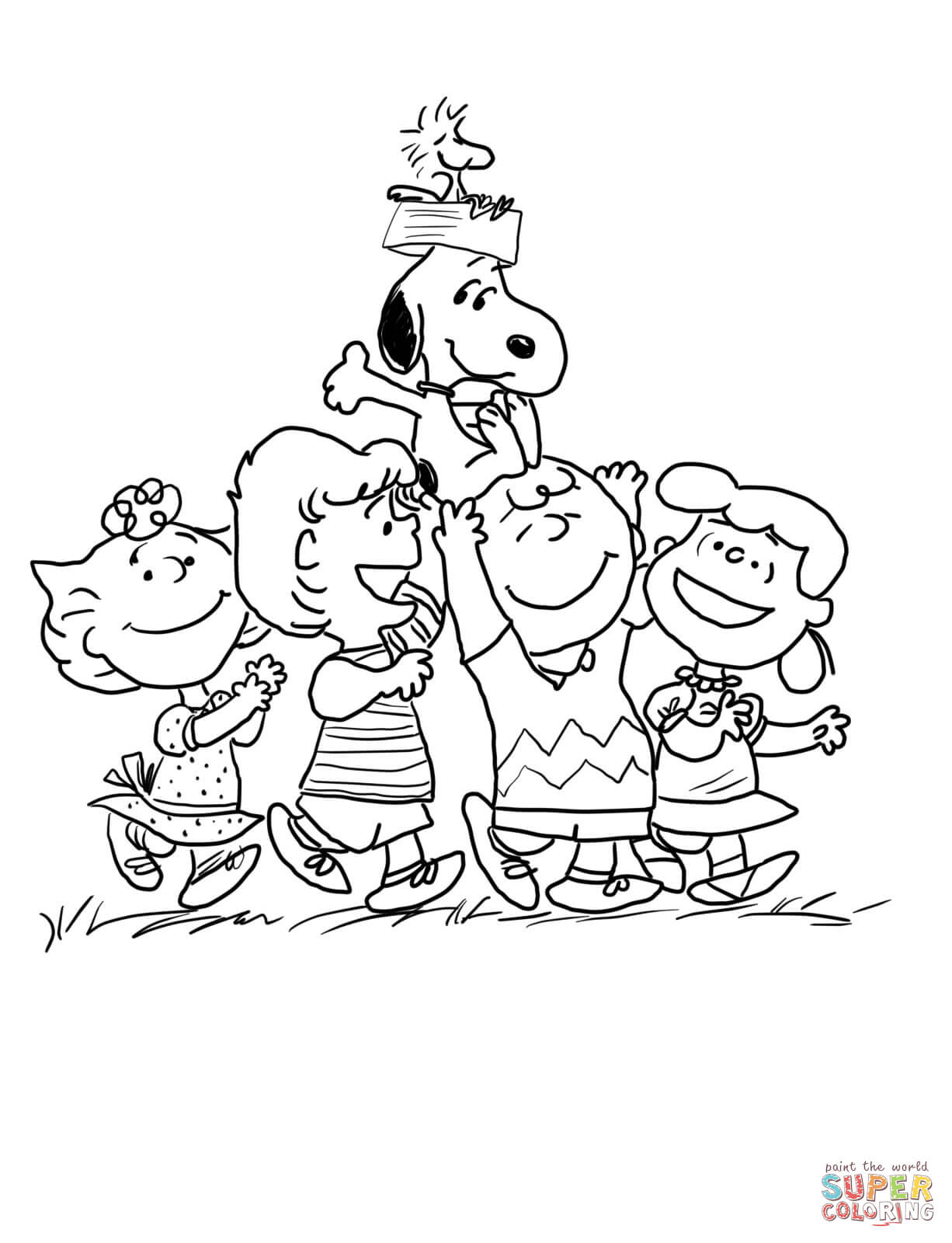 peanuts characters coloring pages peanuts characters coloring page free printable coloring coloring pages characters peanuts