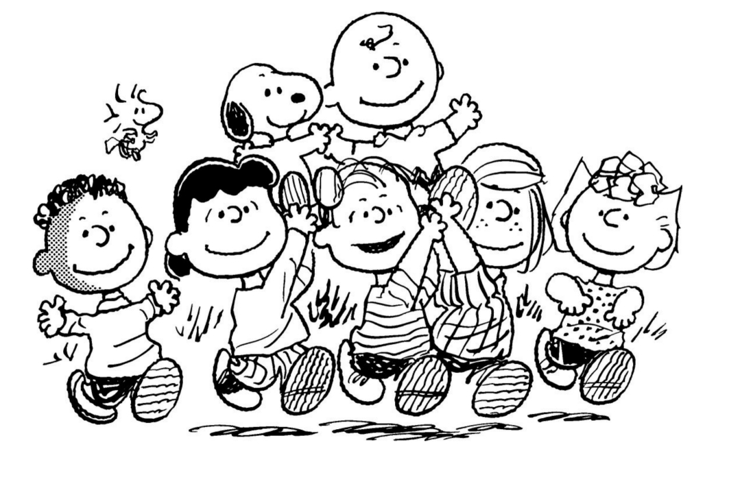 peanuts characters coloring pages snoopy coloring pages to download and print for free coloring characters peanuts pages