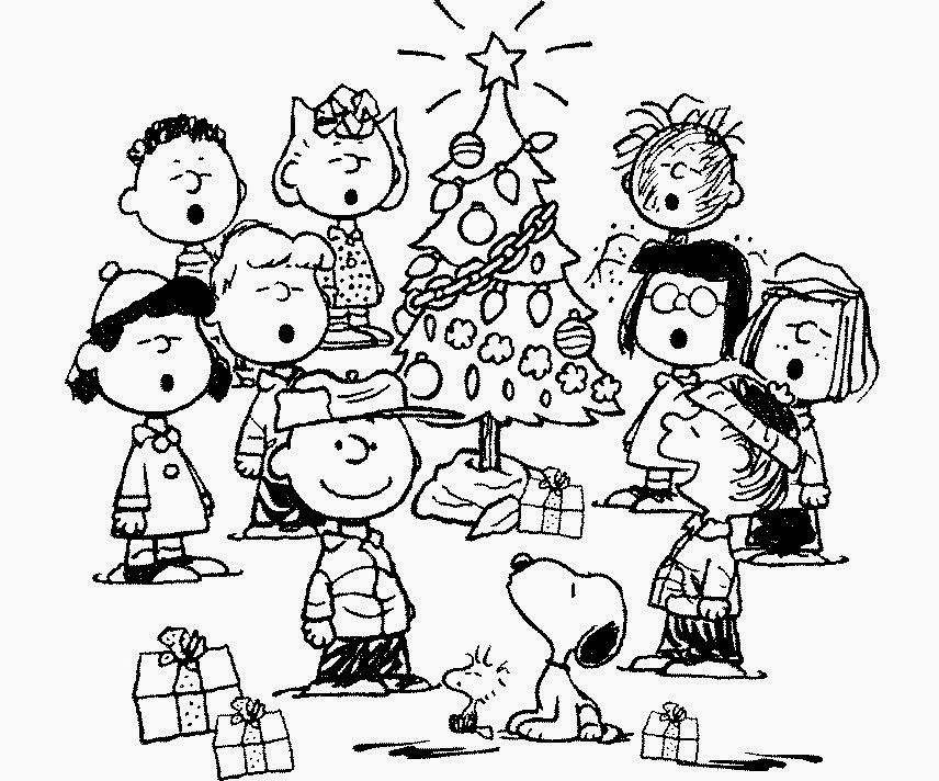 peanuts characters coloring pages the holiday site christmas charlie brown and 39peanuts coloring characters peanuts pages