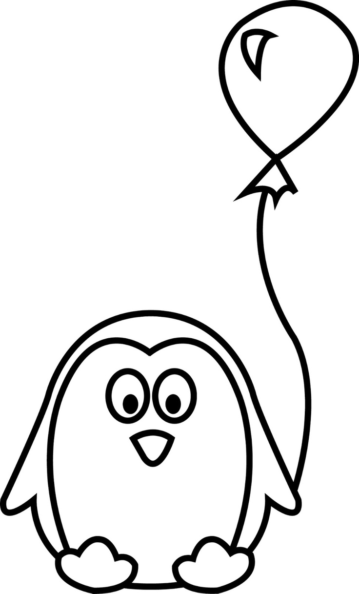 penguin colour in cute baby penguin coloring pages coloring home colour in penguin