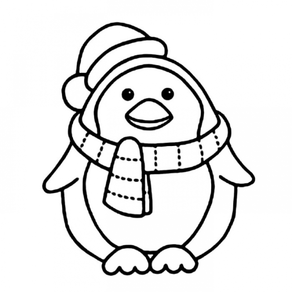 penguin colour in pictures of penguins to color coloring home penguin colour in
