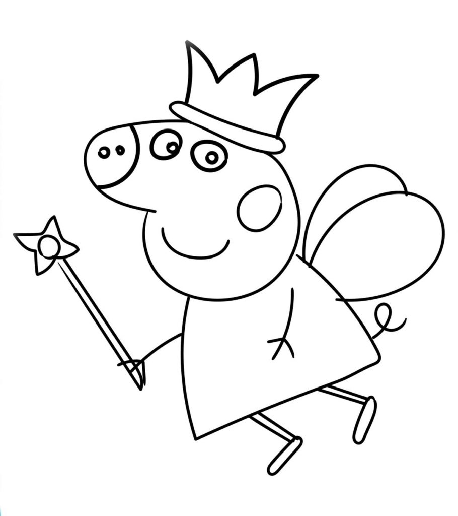 peppa pig coloring template peppa pig and friends coloring pages at getdrawings free peppa template pig coloring