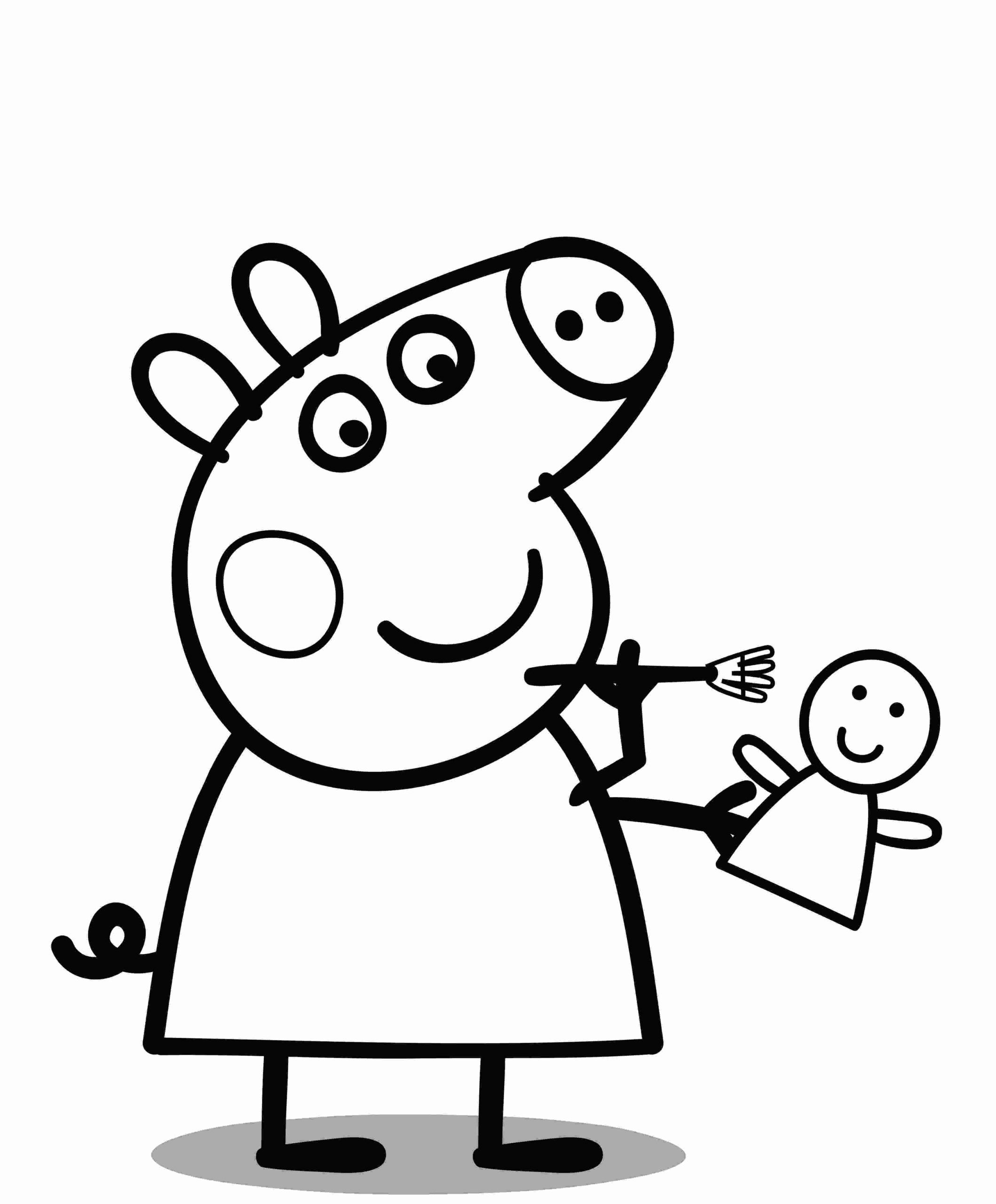 peppa pig pictures for colouring 30 printable peppa pig coloring pages you won39t find anywhere pig colouring for pictures peppa