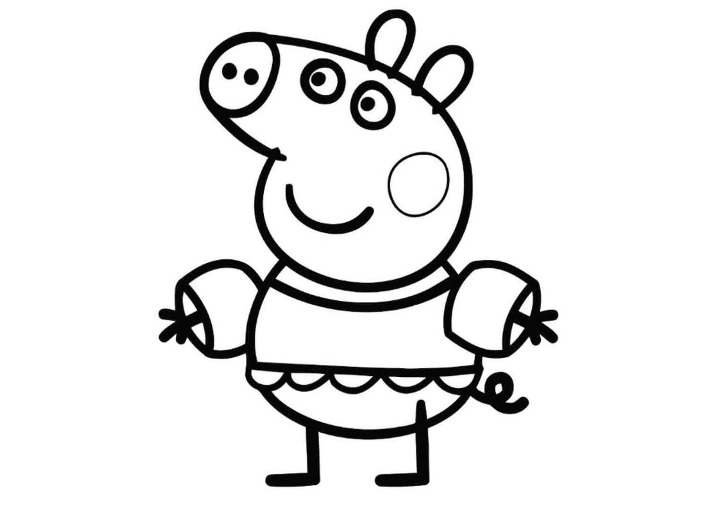 peppa pig pictures for colouring coloring pages of peppa pig luxury coloring pages peppa for pig peppa colouring pictures
