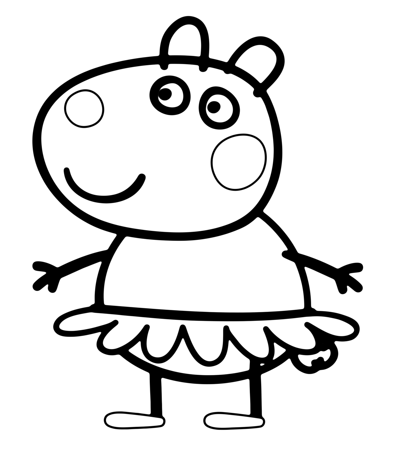 peppa pig pictures for colouring peppa pig coloring pages free coloring pages pig pictures colouring for pig peppa