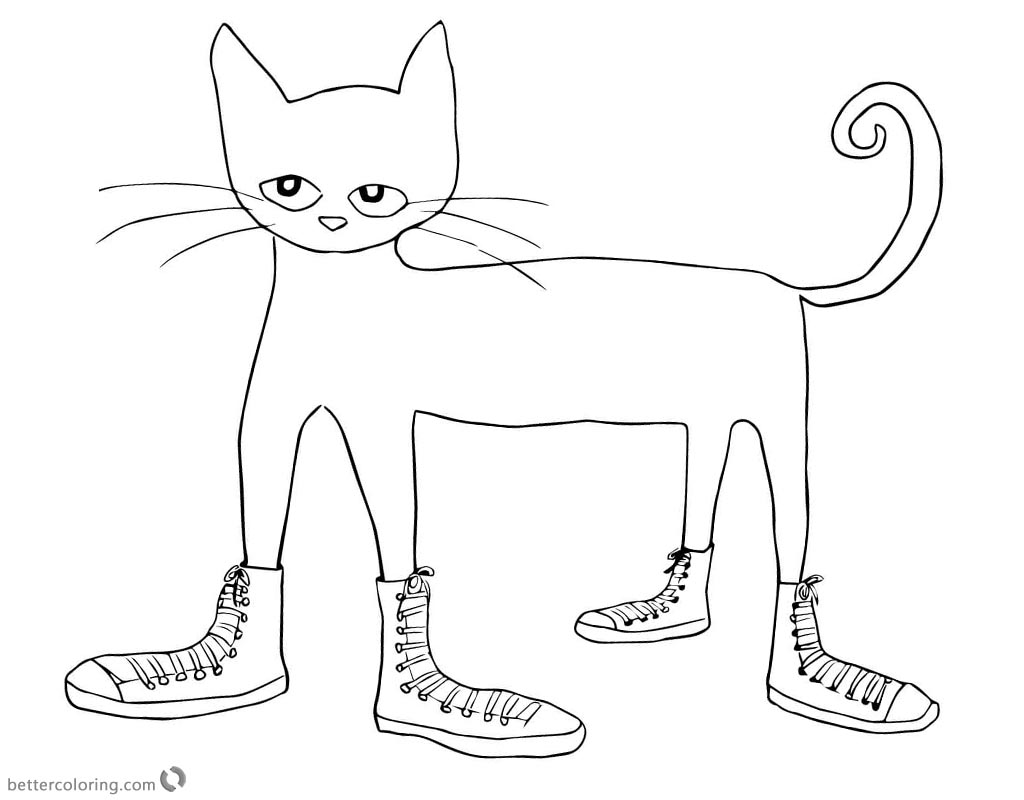 pete the cat shoe printable free pete the cat printables coloring home cat printable shoe pete the