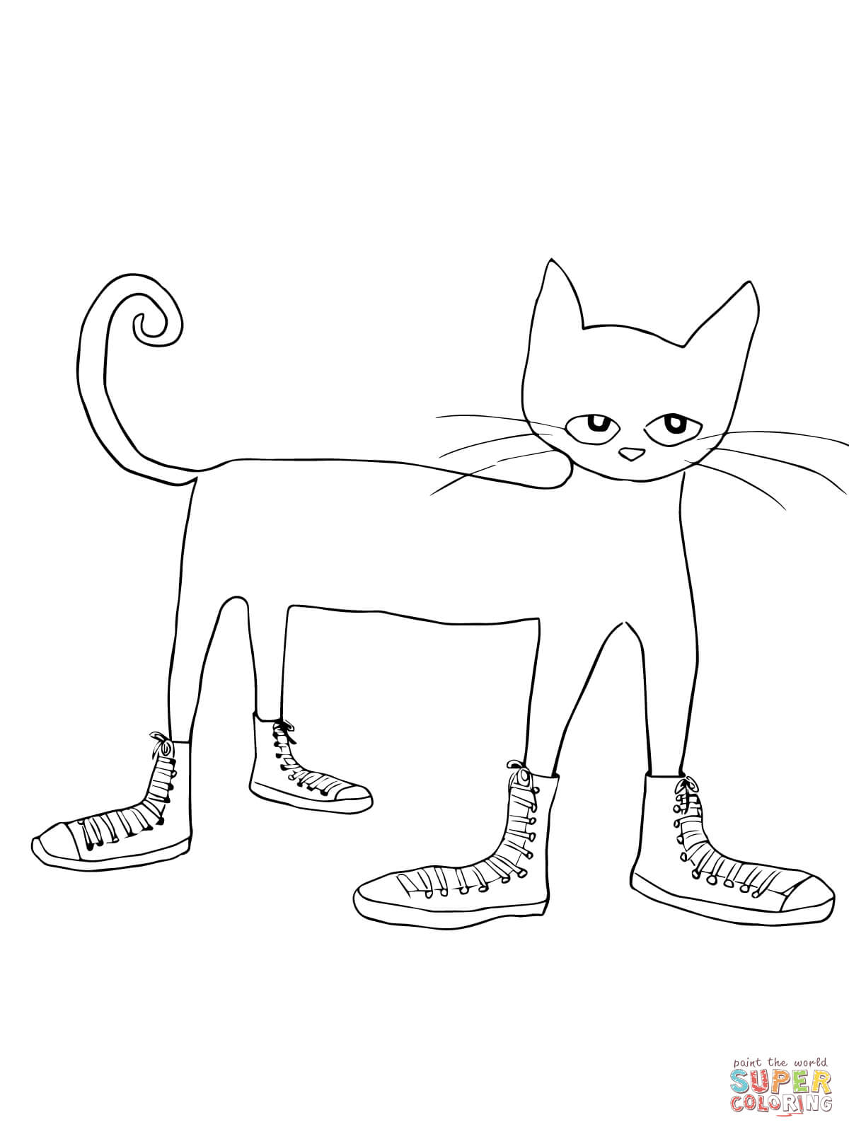 pete the cat shoe printable pete the cat white shoes printable bing images pete pete printable cat shoe the