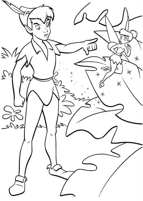 peter max coloring pages peter pan a little mad with tinkerbell coloring page max peter pages coloring