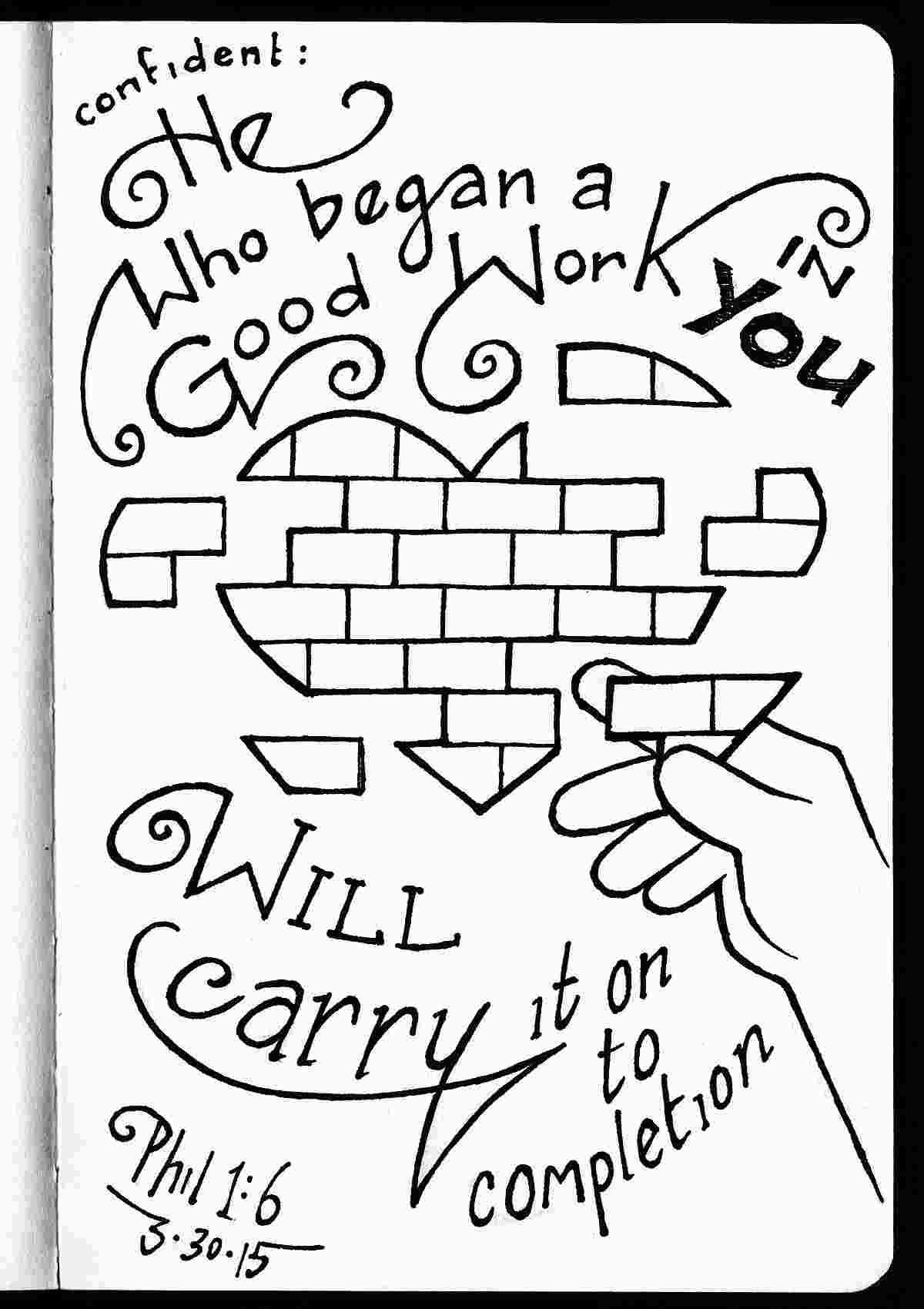 philippians 1 6 coloring sheet coloring pages for kids by mr adron free philippians 16 philippians sheet 6 1 coloring