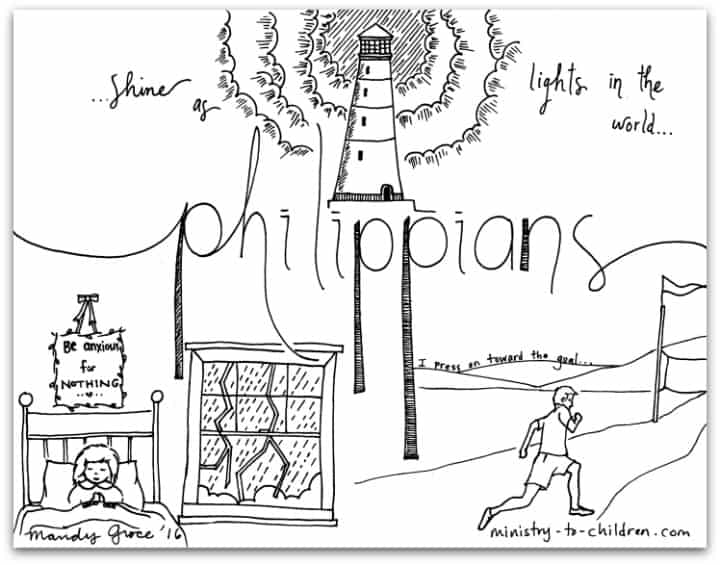 philippians 1 6 coloring sheet coloring pages for kids by mr adron printable philippians coloring sheet 6 1