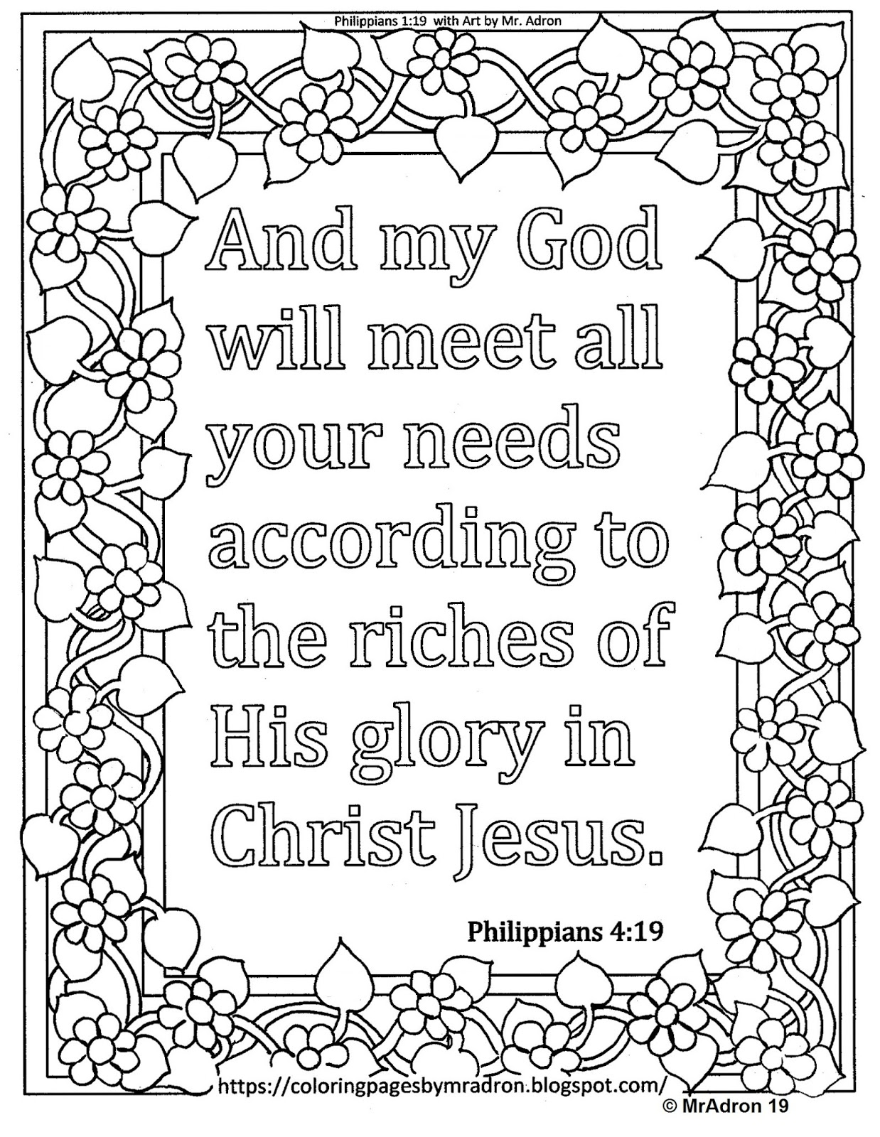 philippians 1 6 coloring sheet have patience god isn39t finished yet coloring page free 1 sheet coloring 6 philippians