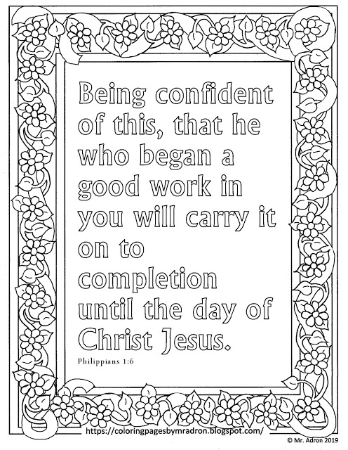 philippians 1 6 coloring sheet pin on line art 1 sheet philippians 6 coloring