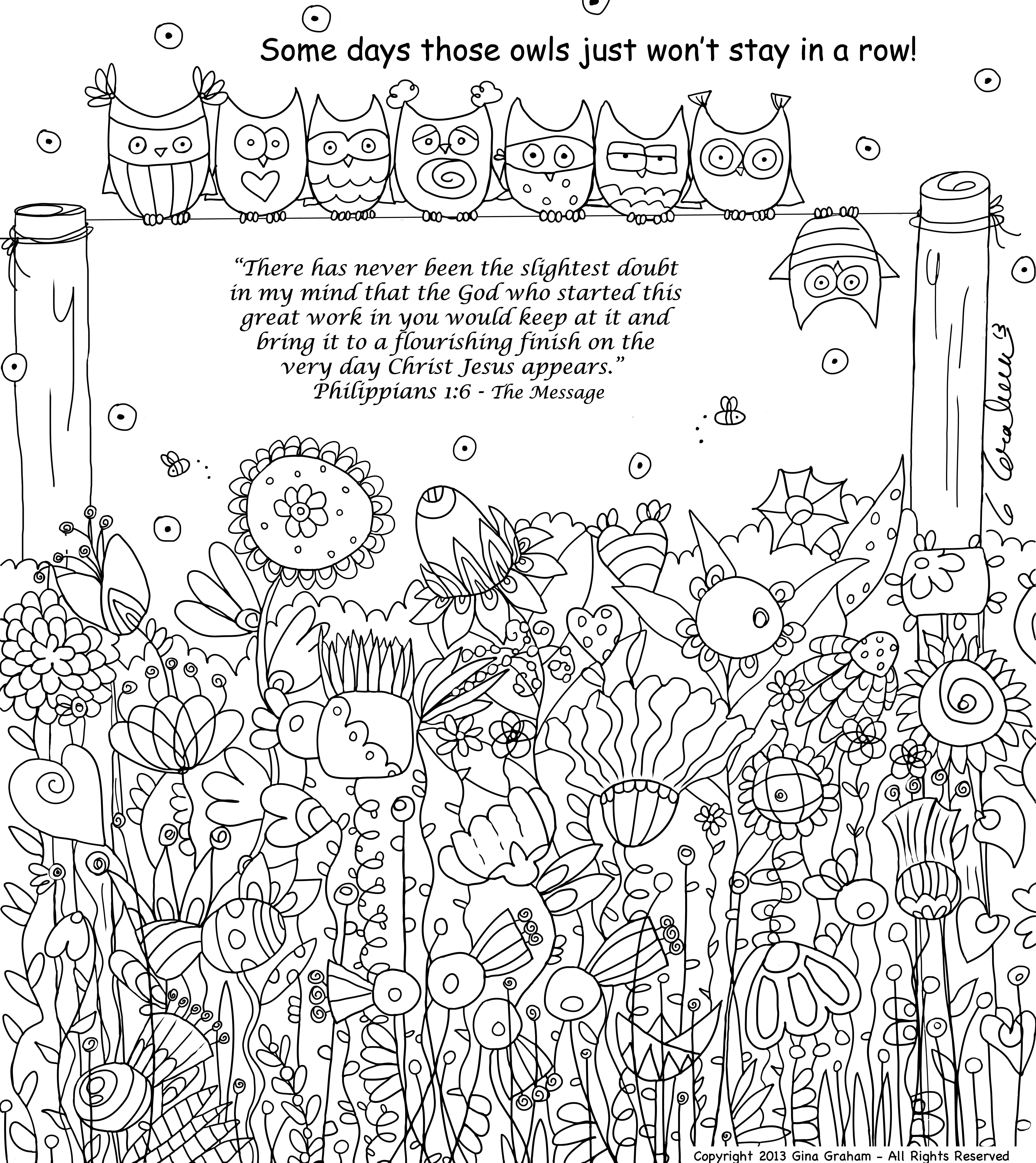 philippians 1 6 coloring sheet totally tots in my heart philippians 16 1 philippians 6 coloring sheet