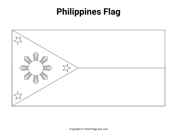 philippine flag ready to print 23 best flags of the world coloring pages for kids flag philippine to ready print